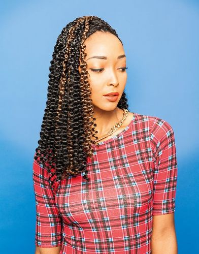 Urban Spring Curly Bulk Braids 18 inches